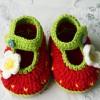 Móc giầy cho bé gái kiểu 1_ bộ dưa hấu