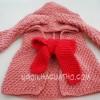 """Cách đan mũ"""" cô bé choàng khăn đỏ"""""""