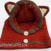 Cách móc mũ con cáo