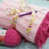 Cách móc chăn cho bé gái
