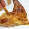 Bí quyết nướng da gà giòn tan