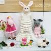 Cách móc thỏ Bibo( cô dâu)