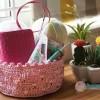 Móc giỏ Pink
