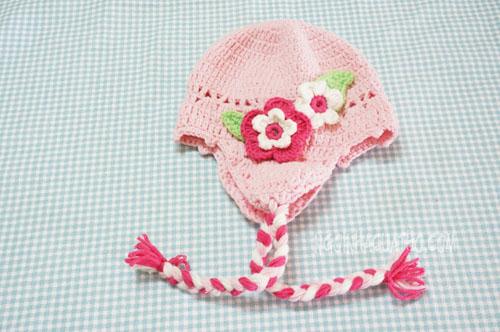 Cách móc mũ len cho trẻ em, chart móc mũ len 1